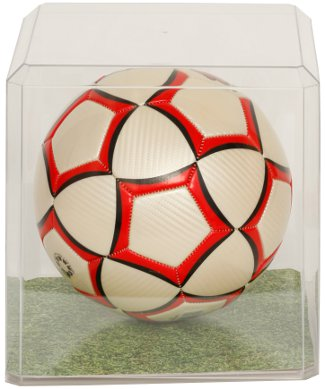 Soccer ball unsigned Clear Display Case PSM