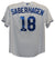 Bret Saberhagen Autographed Kansas City Royals White XL Jersey MVP JSA PSM-Powers Sports Memorabilia