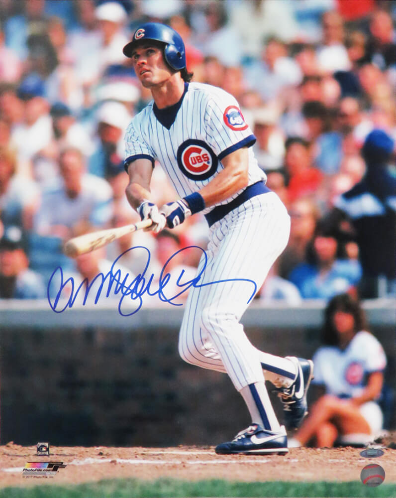 Ryne Sandberg Signed Chicago Cubs 16x20 Photo PSM