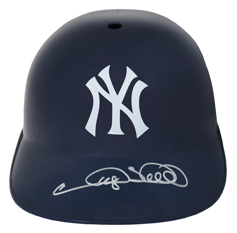 Gary Sheffield Signed New York Yankees Replica Souvenir Batting Helmet PSM-Powers Sports Memorabilia