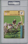 O.J. Simpson Signed Buffalo Bills 1978 Sportscaster Card #36-17 PSA Slab PSM-Powers Sports Memorabilia