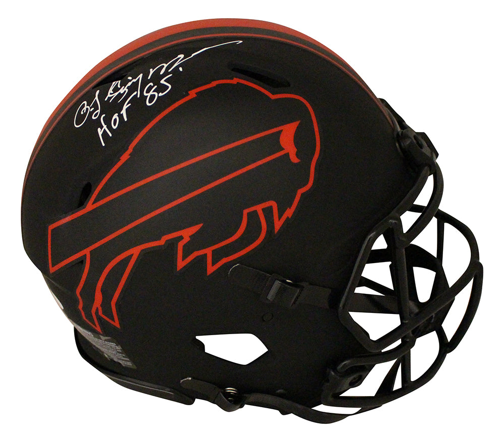 O.J. Simpson Signed Buffalo Bills Authentic Eclipse Speed Helmet HOF JSA PSM-Powers Sports Memorabilia