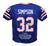 O.J. Simpson Autographed/Signed Pro Style Blue XL Stat Jersey JSA PSM-Powers Sports Memorabilia