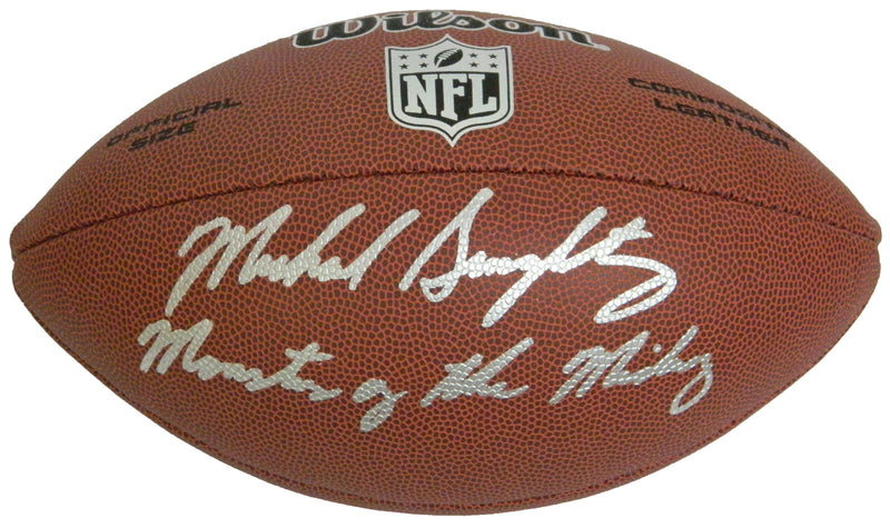 Mike Singletary Signed Wilson Limited Full Size NFL Football w/Monsters of the Midway PSM-Powers Sports Memorabilia