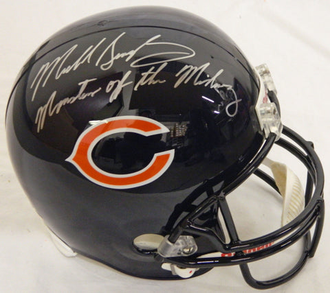 Mike Singletary Signed Bears Riddell F/S Replica Helmet w/Monsters of the Midway PSM-Powers Sports Memorabilia