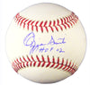 Ozzie Smith Signed Official MLB Baseball w/HOF'02 PSM-Powers Sports Memorabilia
