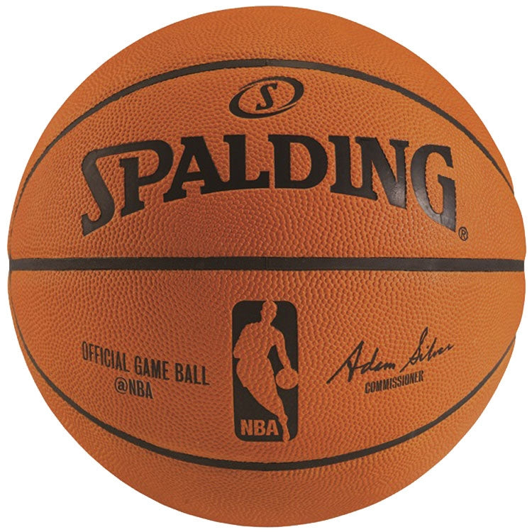 Spalding Official NBA Leather Game Basketball PSM-Powers Sports Memorabilia