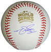 Matt Szczur Signed Rawlings Official 2016 World Series MLB Baseball PSM-Powers Sports Memorabilia