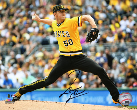 Jameson Taillon Signed Pittsburgh Pirates Pitching Action 8x10 Photo PSM-Powers Sports Memorabilia
