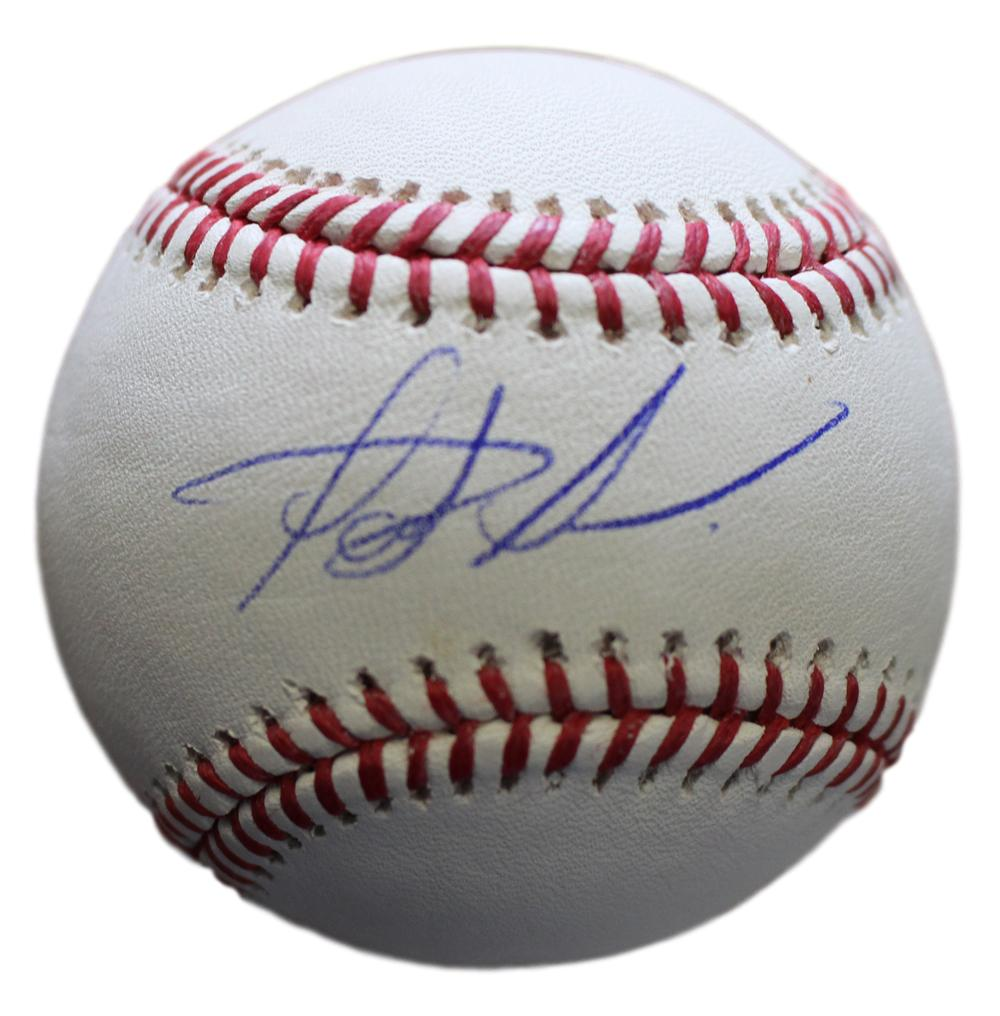 Fernando Tatis Autographed/Signed San Diego Padres OML Baseball JSA PSM-Powers Sports Memorabilia