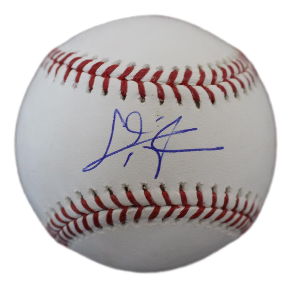 Chris Taylor Autographed/Signed Los Angeles Dodgers OML Baseball JSA PSM-Powers Sports Memorabilia
