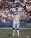 Lawrence Taylor Autographed New York Giants 16x20 Photo (Hands Up) JSA PSM-Powers Sports Memorabilia