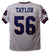 Taylor Lawrence Autographed New York Giants Size XL White Jersey HOF JSA PSM-Powers Sports Memorabilia