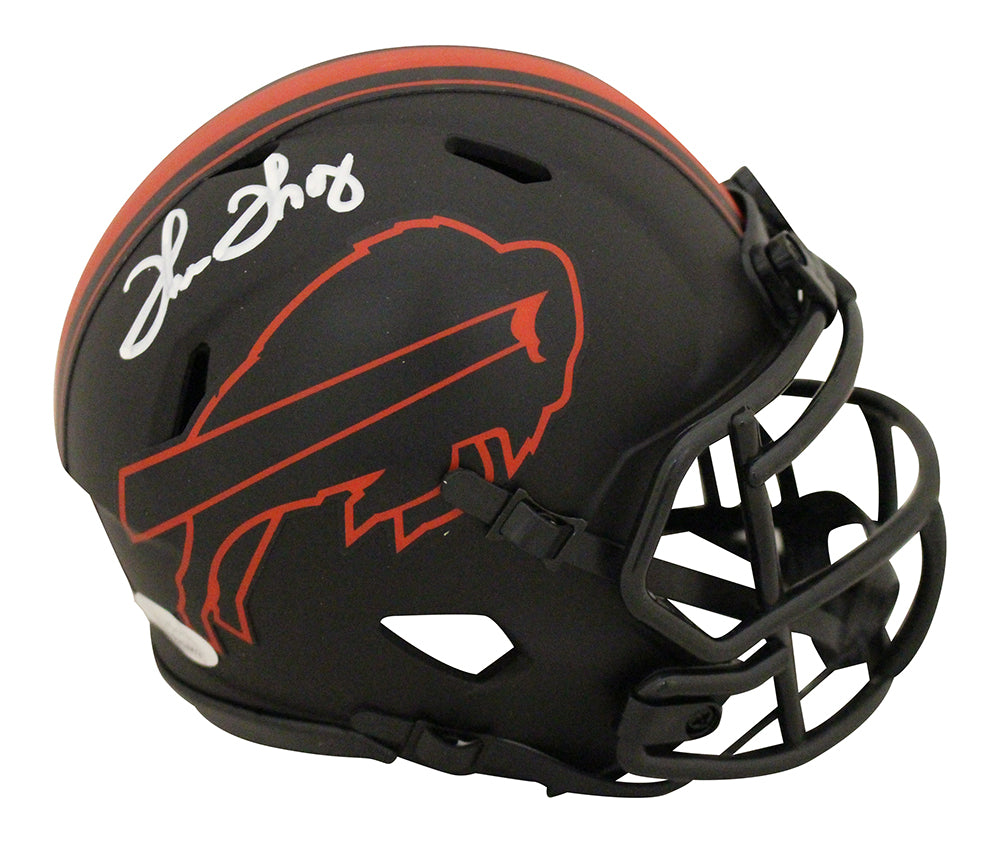 Thurman Thomas Autographed/Signed Buffalo Bills Eclipse Mini Helmet JSA PSM-Powers Sports Memorabilia