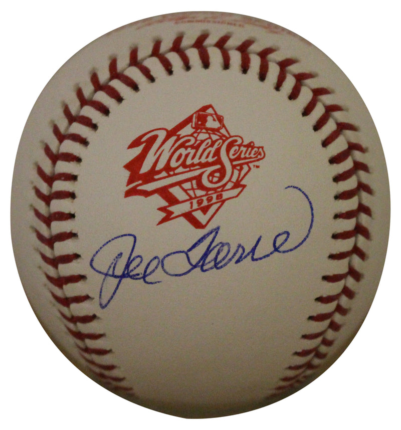 Joe Torre Autographed New York Yankees 1998 World Series Baseball JSA PSM-Powers Sports Memorabilia