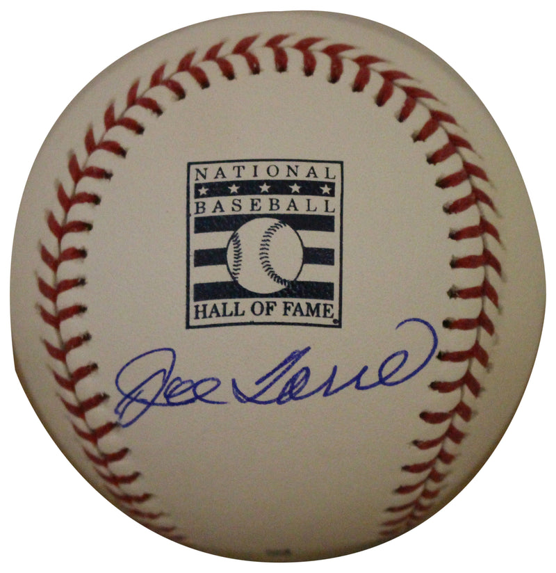 Joe Torre Autographed/Signed New York Yankees Hall Of Fame Baseball JSA PSM-Powers Sports Memorabilia
