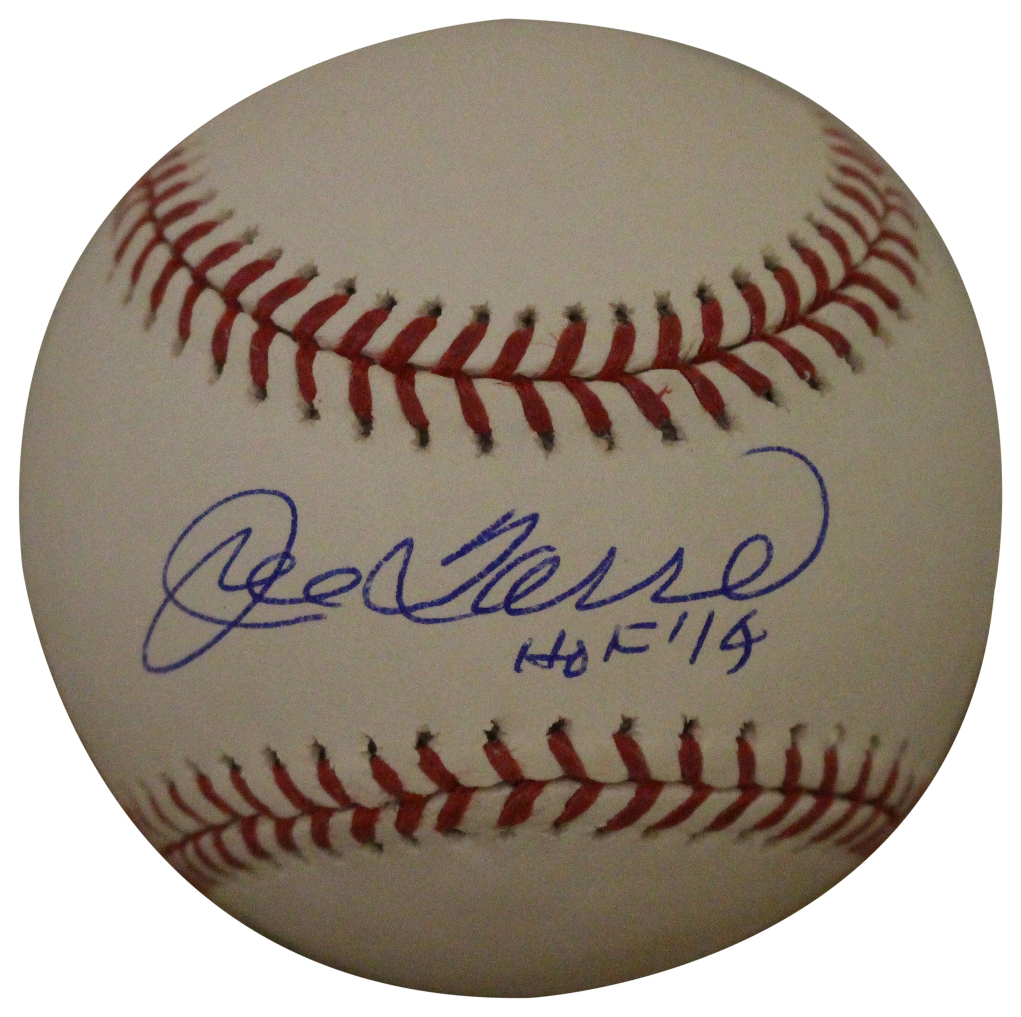 Joe Torre Autographed/Signed New York Yankees OML Baseball HOF JSA PSM-Powers Sports Memorabilia