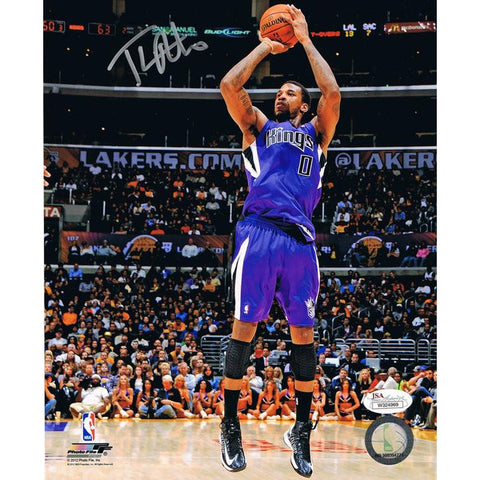 Thomas Robinson Signed Sacramento Kings 8x10 Autographed Photo JSA COA-Powers Sports Memorabilia