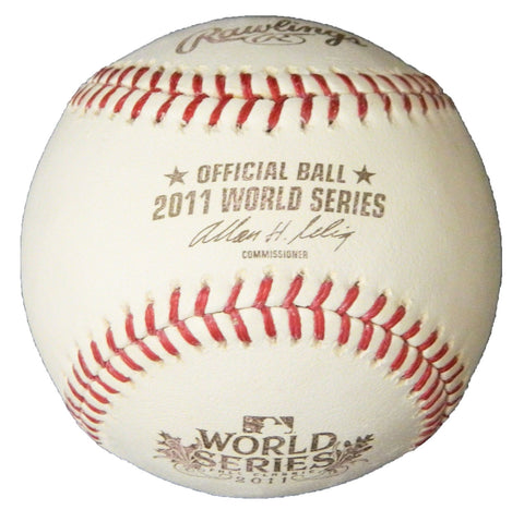Rawlings Official 2011 World Series Baseball (St Louis Cardinals vs Texas Rangers) PSM-Powers Sports Memorabilia