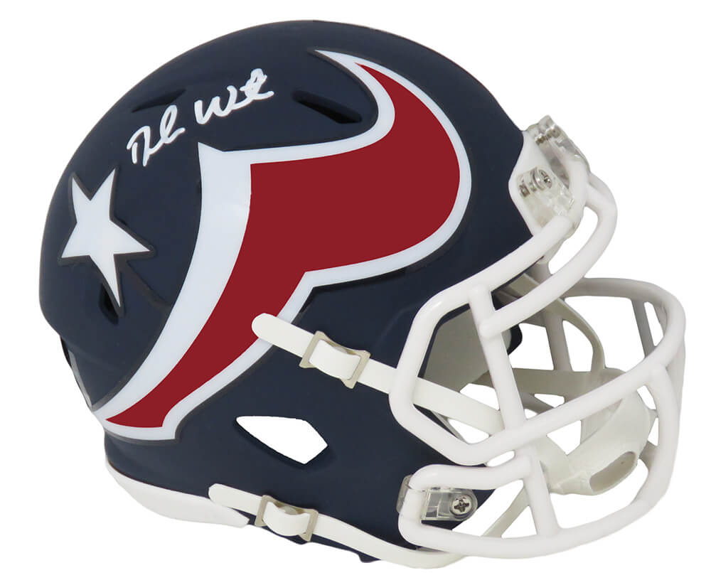 Deshaun Watson Signed Houston Texans AMP Riddell Speed Mini Helmet (Beckett) PSM-Powers Sports Memorabilia