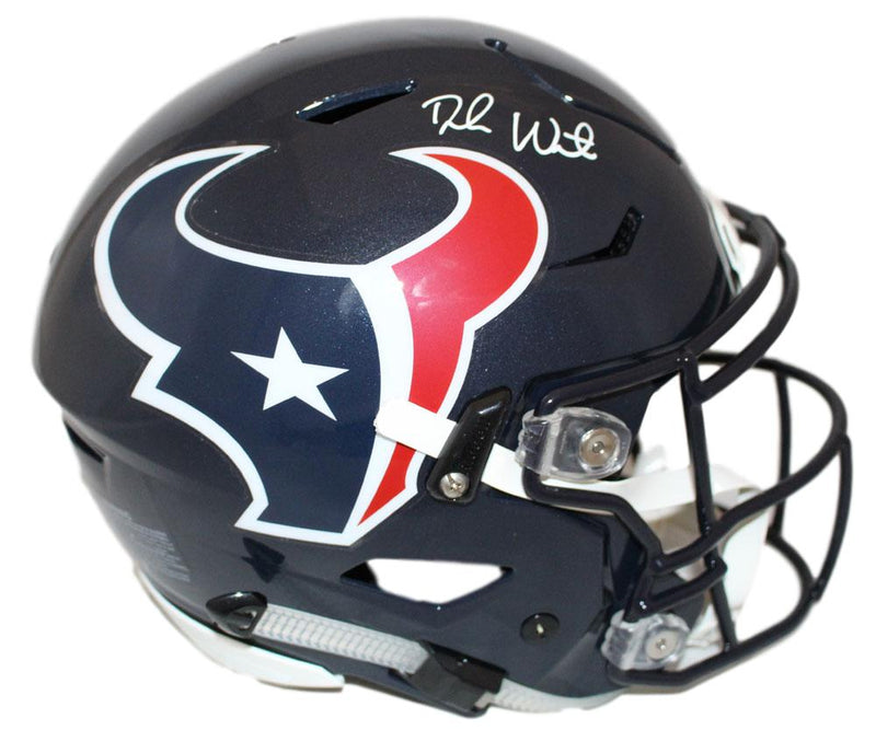 Deshaun Watson Autographed Houston Texans Speed Flex Helmet BAS PSM-Powers Sports Memorabilia