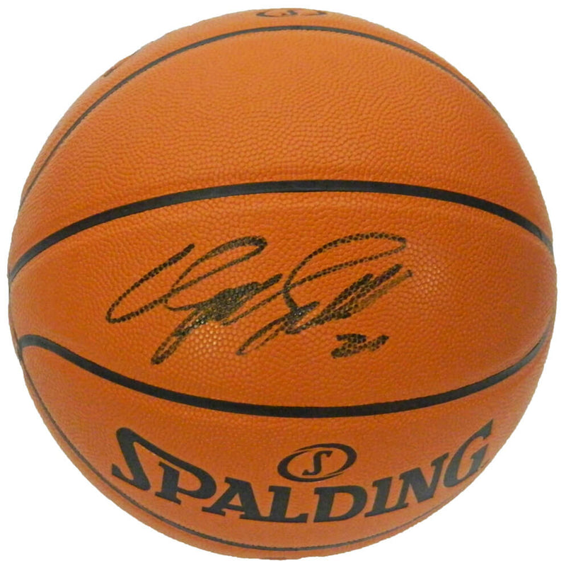 Dominique Wilkins Signed Spalding NBA Game Series Replica Basketball PSM-Powers Sports Memorabilia