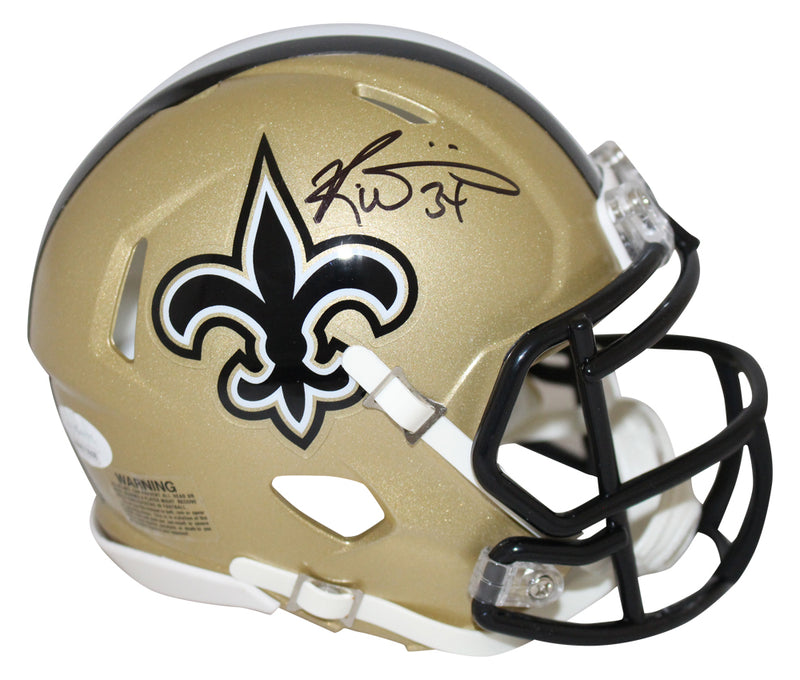 Ricky Williams Signed New Orleans Saints Speed Authentic Helmet Smoke JSA PSM-Powers Sports Memorabilia