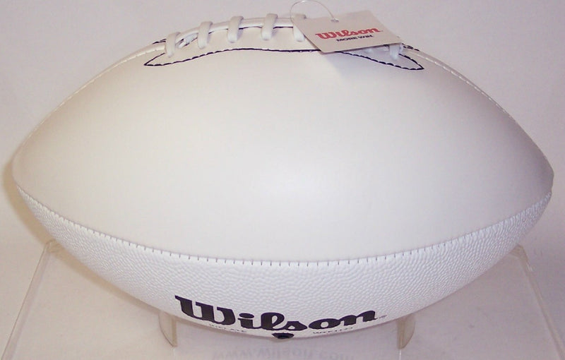 Wilson 4 White Panel Full Size Autograph Model Football - F1173 PSM-Powers Sports Memorabilia
