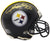 Rod Woodson Signed Pittsburgh Steelers Riddell Mini Helmet PSM-Powers Sports Memorabilia