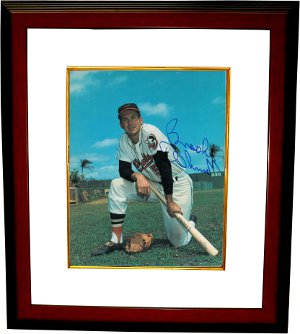 Brooks Robinson signed Baltimore Orioles 8x10 Photo Custom Framed - JSA Hologram PSM-Powers Sports Memorabilia