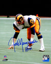 Jack Youngblood Signed Los Angeles Rams Stance 8x10 Photo w/HF'01 PSM-Powers Sports Memorabilia