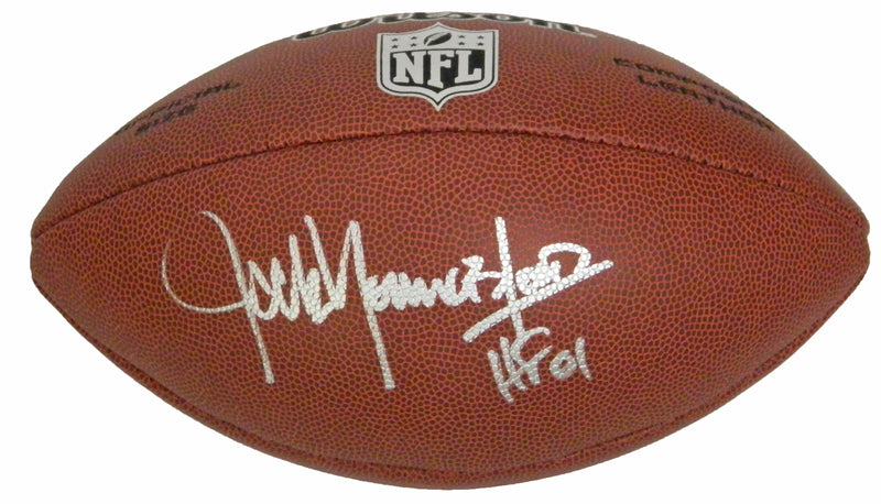 Jack Youngblood Signed Wilson Limited NFL Full Size Football w/HF'01 PSM-Powers Sports Memorabilia