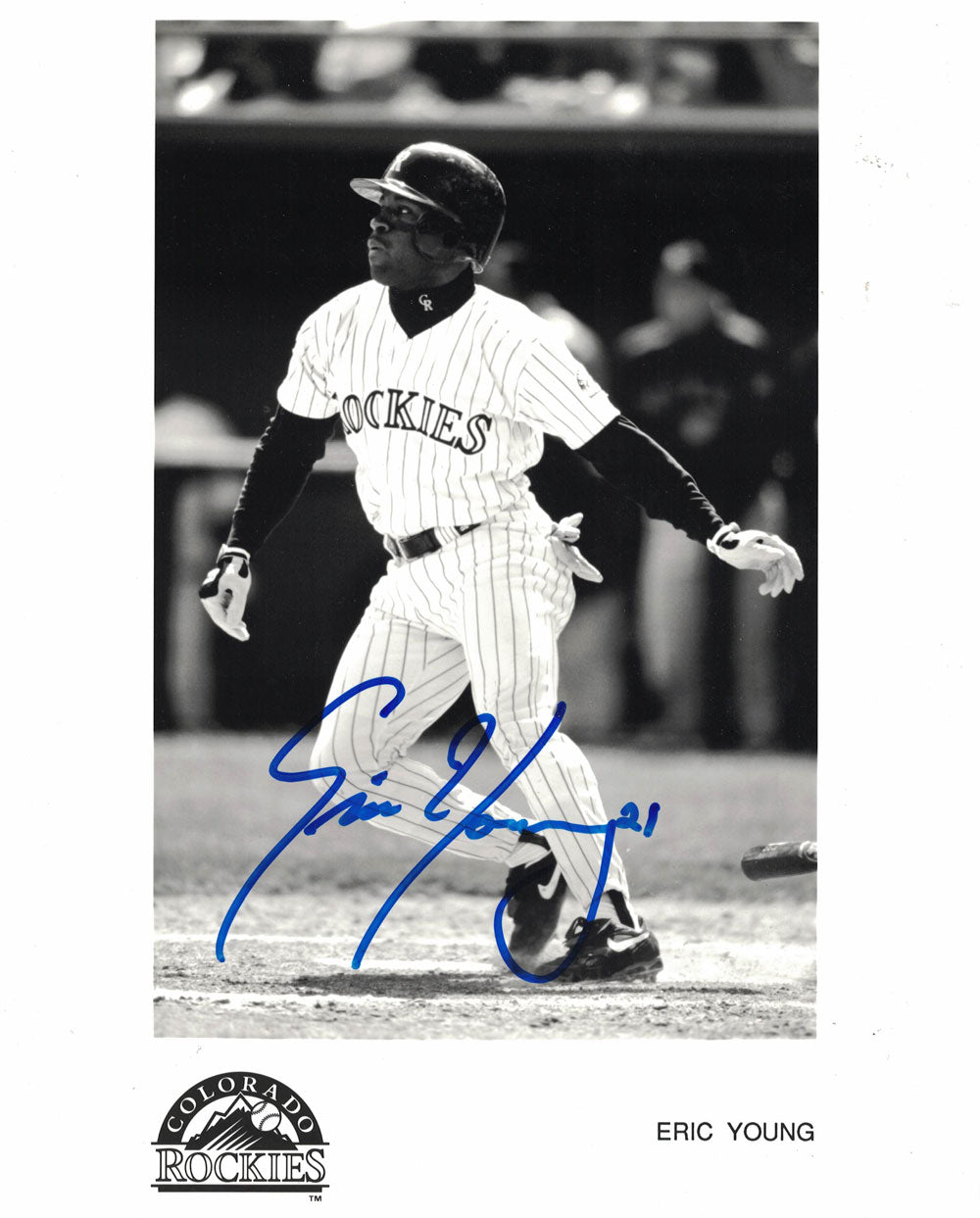 Amos Otis Autographed/Signed Kansas City Royals 8x10 Photo PF PSM-Powers Sports Memorabilia