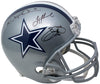 Aikman Irvin Smith Signed Dallas Cowboys FS Replica Helmet SI+Player Holos PSM-Powers Sports Memorabilia