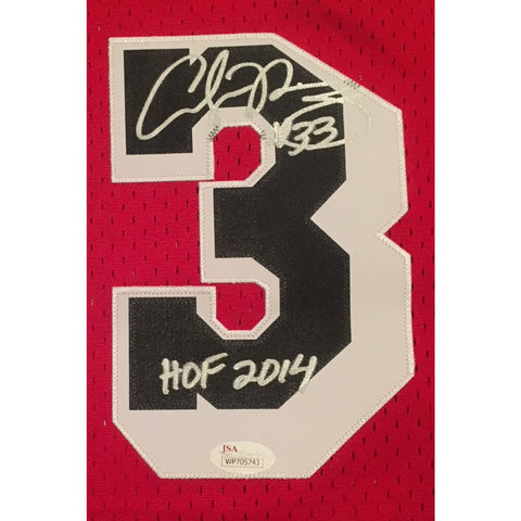 Alonzo Mourning Autographed Miami Heat Adidas Swingman Signed Basketball Jersey Hall of Fame HOF 2014 JSA COA-Powers Sports Memorabilia