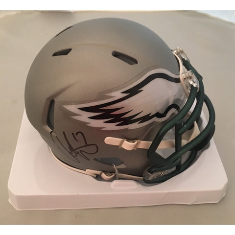 Alshon Jeffery Autographed Eagles Blaze Mini Helmet