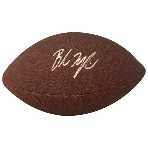 Baker Mayfield Cleveland Browns Oklahoma Sooners Autographed NFL Signed  Football PSA DNA COA-Powers Sports ... 0fd1f467a
