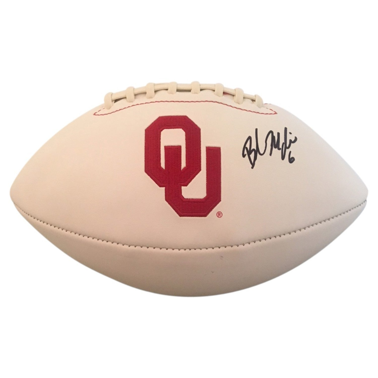 Baker Mayfield Autographed Heisman Oklahoma Sooners Signed Football PSA DNA  COA-Powers Sports Memorabilia 88e91d7d6