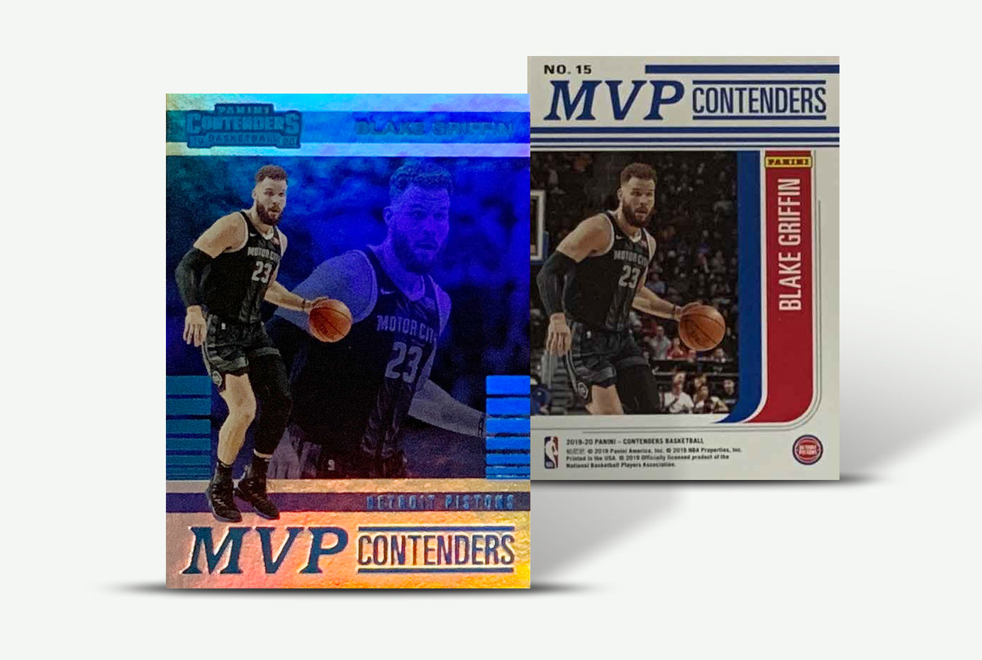 Blake Griffin Detroit Pistons 2019-2020 Panini Contenders MVP Basketball Trading Card Unsigned-Powers Sports Memorabilia