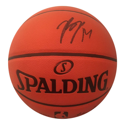 Brandon Ingram Autographed NBA Signed Basketball PSA DNA COA Black-Powers Sports Memorabilia