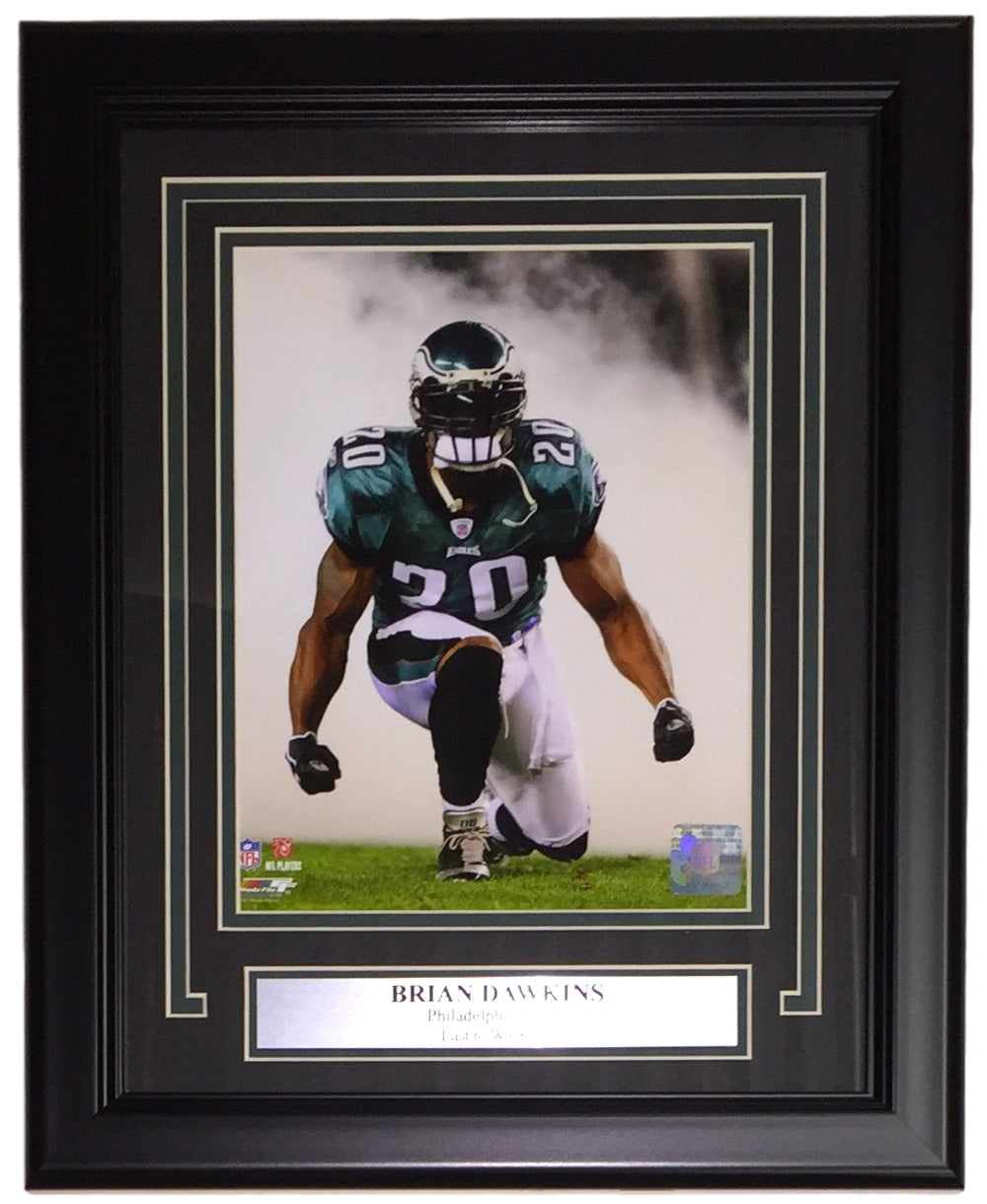 Brian Dawkins Framed 8x10 Philadelphia Eagles Photofile Photo PSM-Powers Sports Memorabilia
