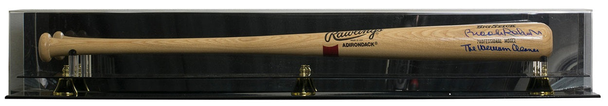 Brooks Robinson Signed Rawlings Adirondack Bat Vaccum Cleaner BAS w/ Acylic Case PSM-Powers Sports Memorabilia