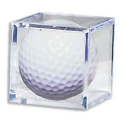 Golf Ball Acrylic Display Case Cube- Case of 6 PSM