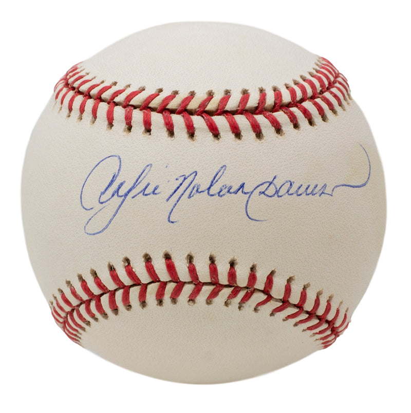 Andre Dawson Chicago Cubs Signed National League Baseball JSA PSM-Powers Sports Memorabilia