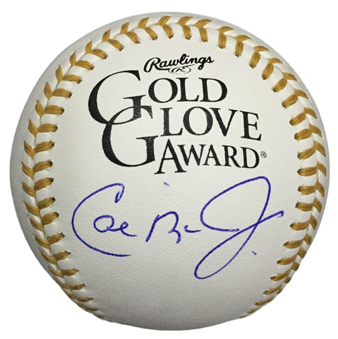 Cal Ripken Jr. Orioles Signed Official Gold Glove Baseball w/ Free Ball Cube JSA PSM-Powers Sports Memorabilia