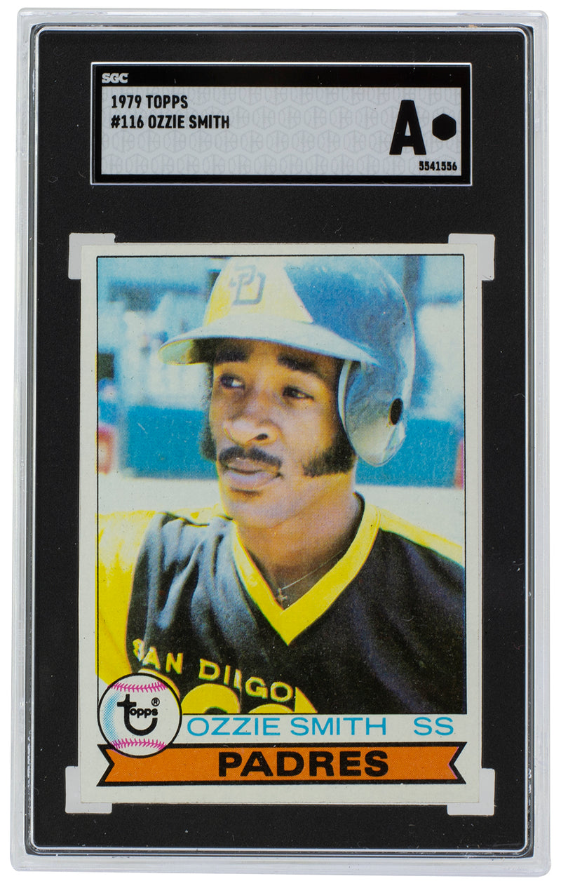 Ozzie Smith San Diego Padres 1979 Topps #116 Rookie Baseball Card SGC A PSM-Powers Sports Memorabilia