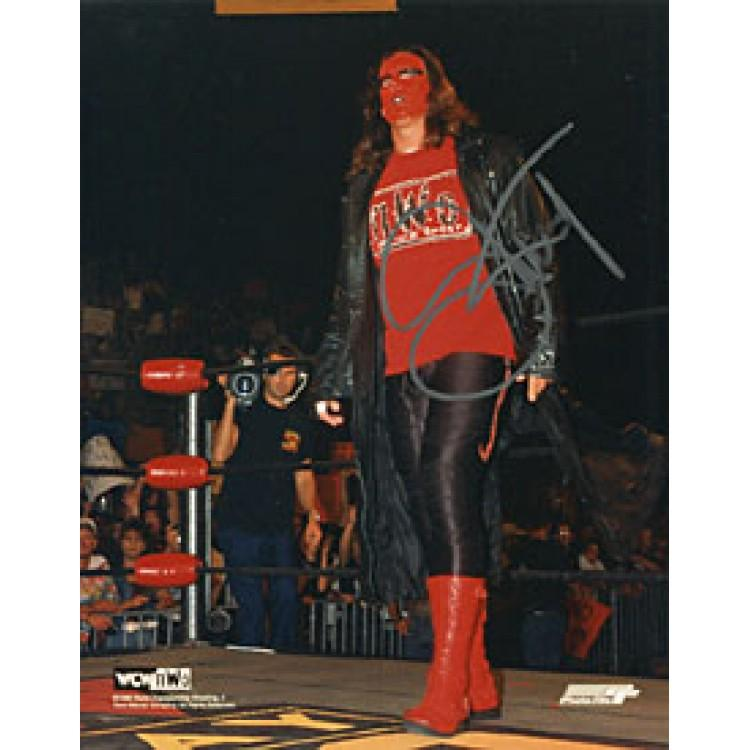 Sting Autographed / Signed Wrestling 8x10 Photo PSM-Powers Sports Memorabilia