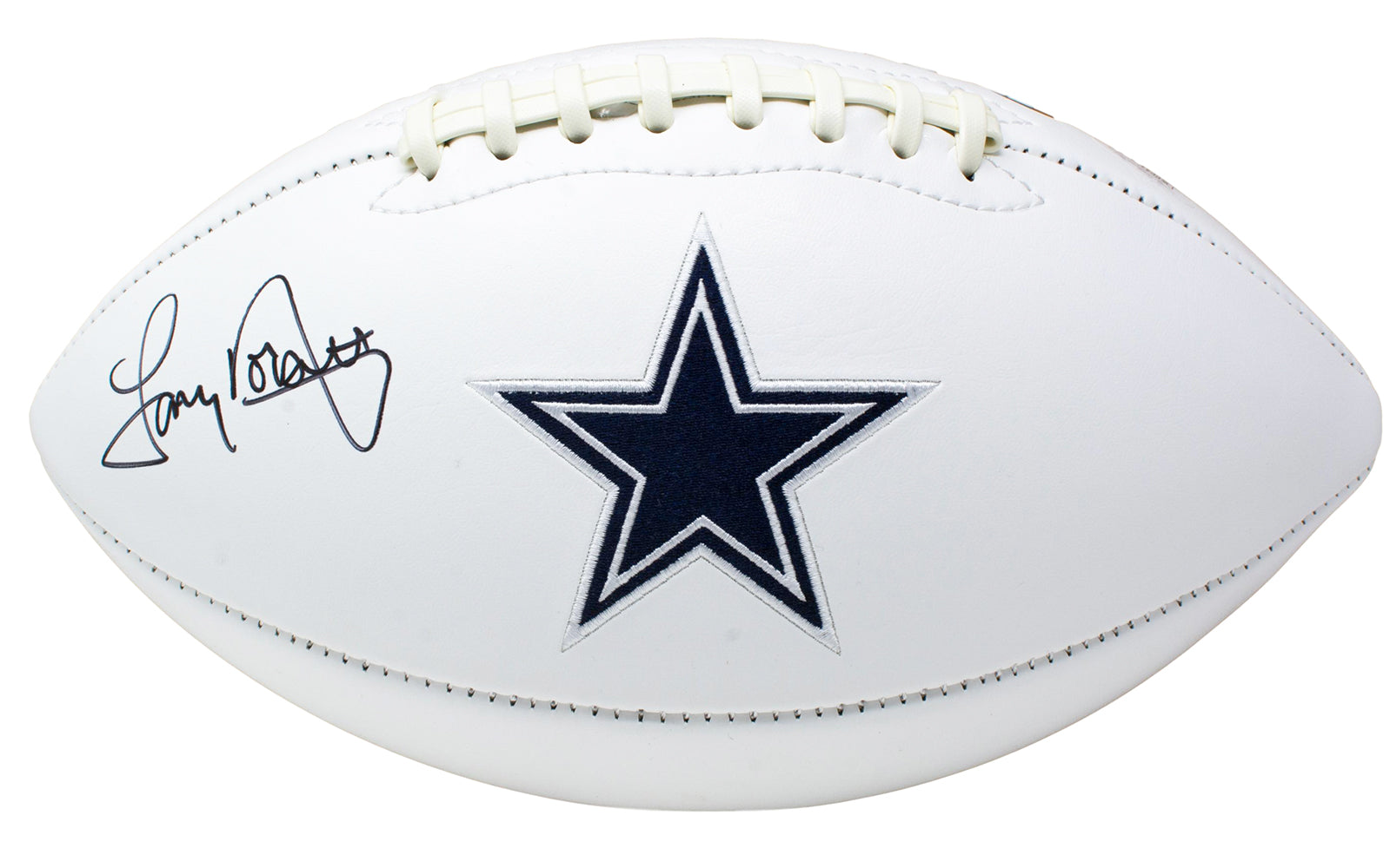 Tony Dorsett Signed Dallas Cowboys Logo Football JSA PSM-Powers Sports Memorabilia