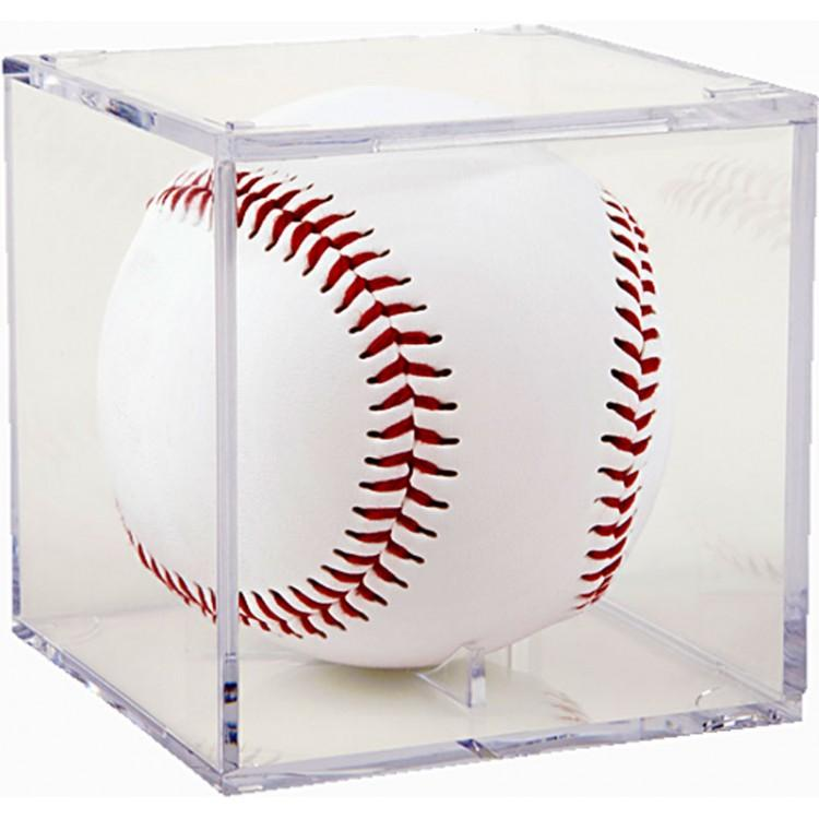 Baseball Acrylic Display Cube PSM-Powers Sports Memorabilia