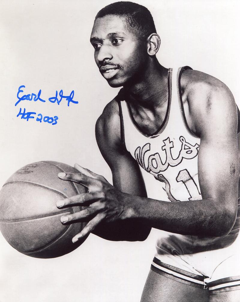 "Earl Lloyd ""HOF 2003"" Autographed 8x10 Photo PSM-Powers Sports Memorabilia"